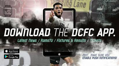 Derby County App: Download Now To Stay Up To Date!