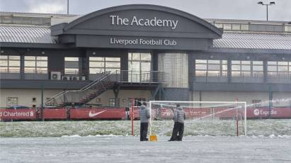 Under-23s' Clash At Liverpool Called Off