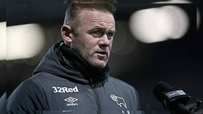 Rooney Looks Ahead To Bristol City Clash
