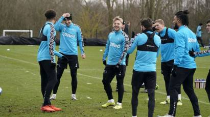 IN PICTURES: Rams All Smiles As The Prepare For Boro