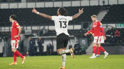 Kazim-Richards Pleased To Mark New Contract With Equaliser In East Midlands Derby