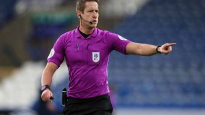 Brooks The Referee For Derby's Game At Coventry