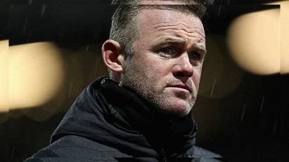 Rooney Offers His Reaction As Derby Taste Defeat At Cardiff