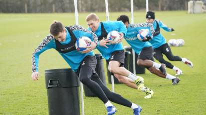 IN PICTURES: Rams Prepare For Coventry Trip