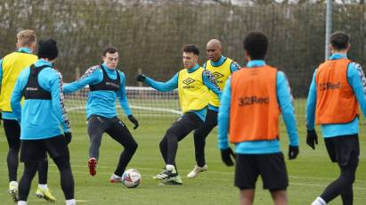 IN PICTURES: Rams Prepare For Barnsley Trip