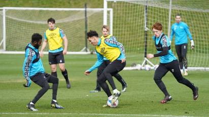 IN PICTURES: Rams Put In The Work During International Break