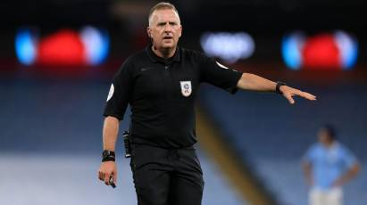 Moss Appointed As Referee For Derby's Trip To Reading
