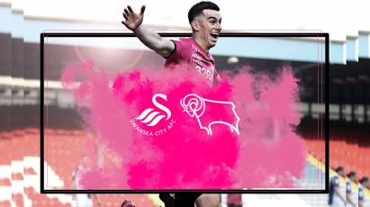 Watch From Home: Swansea City Vs Derby County LIVE On RamsTV