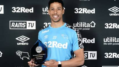 Curtis Davies Announced As Derby's PFA Community Champion