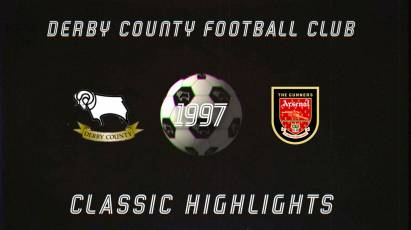 Classic Highlights: Derby County Vs Arsenal (1997)
