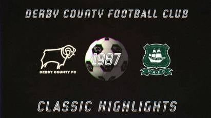 Classic Highlights: Derby County Vs Plymouth Argyle (1987)