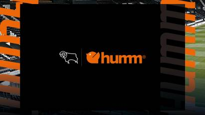 Derby Reveal humm As Back Of Shirt And Shorts Partner For 2021/22 Season