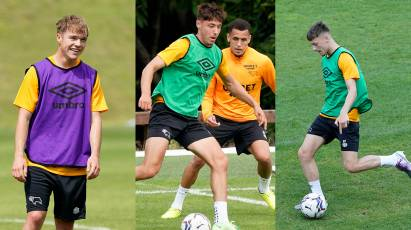 Youngsters Enjoying First Taste Of Pre-Season Training Camp