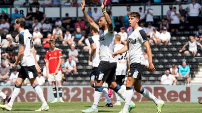 Match Gallery: Derby County 1-2 Manchester United