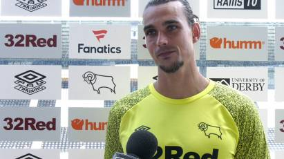Roos Delighted To Be Back At Pride Park In Front Of Fans