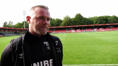 """Rooney: """"It's Another Step Towards The First Game Of The Season"""""""