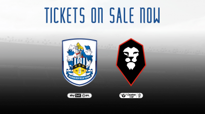 Huddersfield Town And Salford City Tickets: General Sale Underway