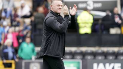 Rooney Pleased To End Pre-Season With A Win