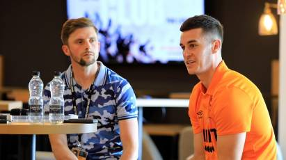 Lawrence Chats With Fans At EFL Season Launch