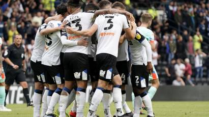IN PICTURES: Derby County 1-1 Huddersfield Town