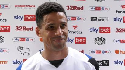 Davies Reacts To Derby's Draw Against Huddersfield