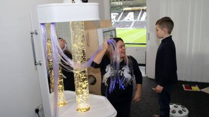 Derby County's Sensory Room Re-Opens For The 2021/22 Season