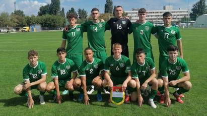 Kelly-Caprani On Target Again For Republic Of Ireland Under-18s