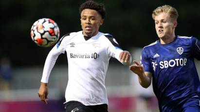 U23 MATCHDAY REPLAY: Derby County Vs Leeds United