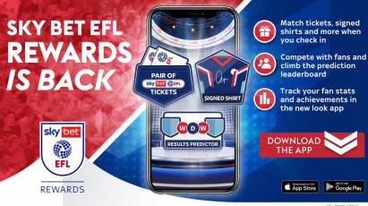 Don't Forget To Check In On Sky Bet EFL Rewards