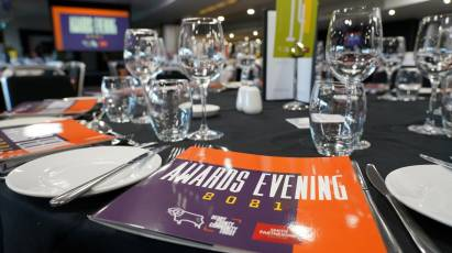 Derby County Community Trust Celebrate Incredible Participants and Achievements At Annual Awards