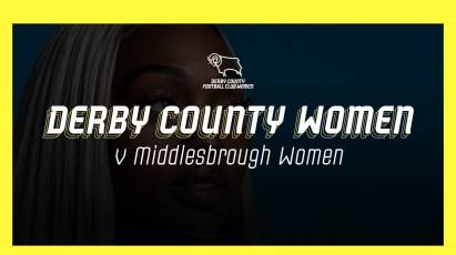 Derby County Women Vs Middlesbrough Women: Show Your Support To The Ewe Rams