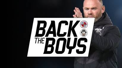 Back Rooney's Rams At Pride Park Against Reading And Swansea This Week