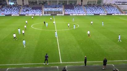 Under-23s Highlights: Manchester City 1-0 Derby County