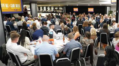 Derby County Community Trust Celebrate Their Achievements At Annual Awards Night