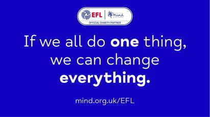 EFL Clubs 'Do One Thing' for World Mental Health Day