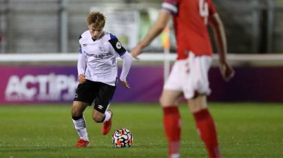 Thompson Relishing 'Senior Role' In Derby's Under-23s