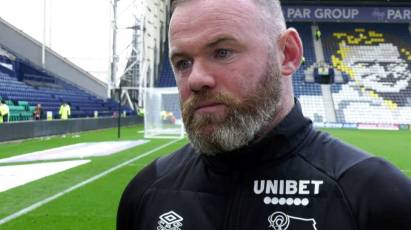 Rooney Reviews Derby's Draw At Preston