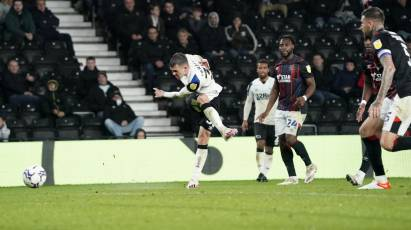 Match Gallery: Derby County 2-2 Luton Town