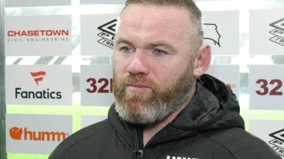 Rooney Offers His Verdict After Derby's Draw With Luton