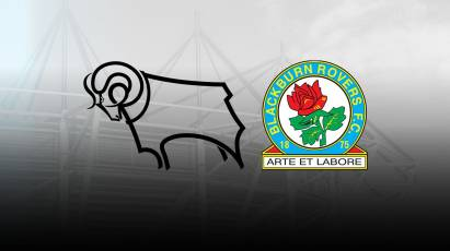 Get Your Tickets For Derby's Next Home Game Against Blackburn