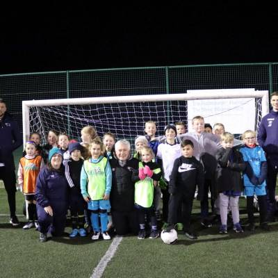 Hamer And Evans Join Community Sessions - Derby County Football Club