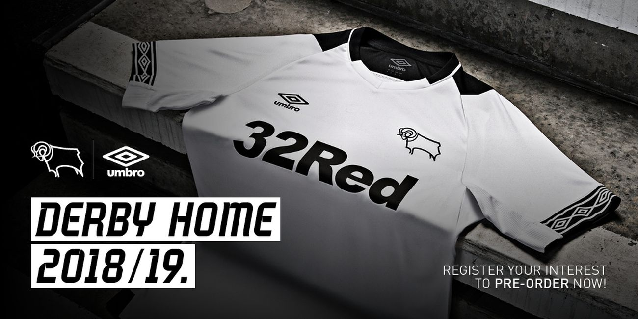 Rams Reveal New 2018/19 Home Kit - Blog - Derby County