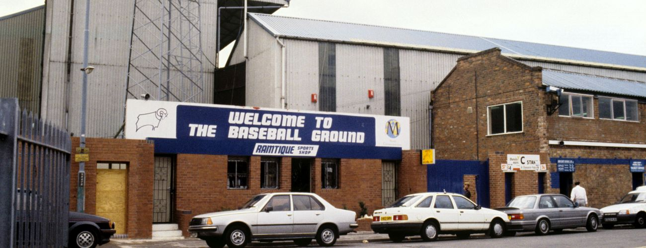The Baseball Ground Derby County