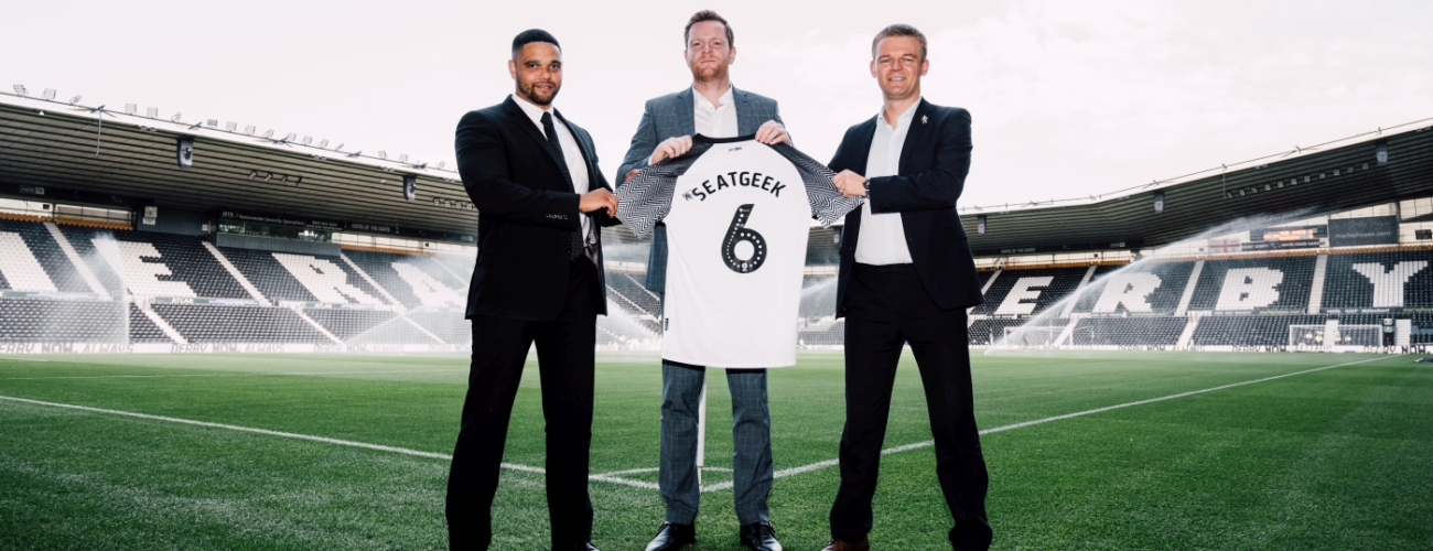 Derby County Extend Seatgeek Partnership Blog Derby County
