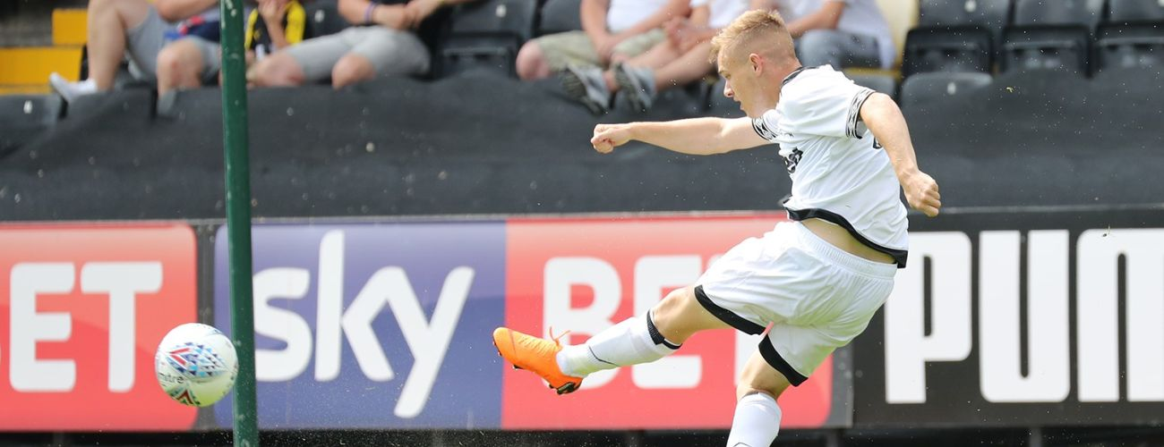 Thomas Breaks Down His First Senior Goal - Blog - Derby County