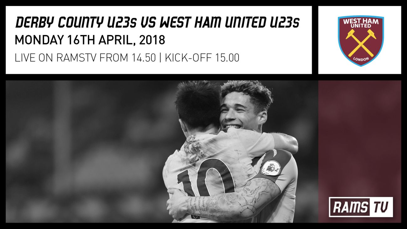 Watch Our Under-23s Against West Ham Live!